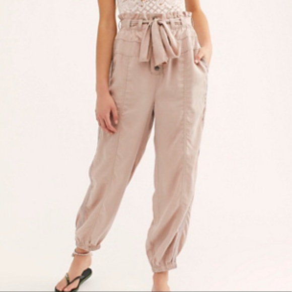 Free People Pants - Free People Keep It Cinched Utility Pants Sz Large
